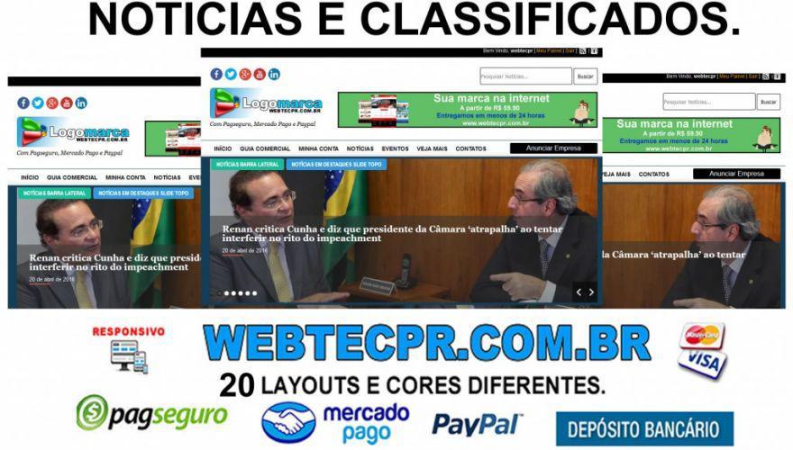 Sites para classificados prontos com sistema de pagamento